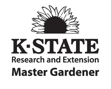 The logo of the Kansas State Research and Extension Master Gardener Program.